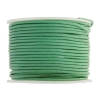Leather Round Cord 1.5mm Light Green